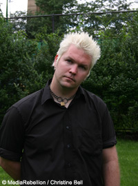 Pat Thetic of Anti-Flag